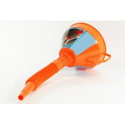 Lievik + hrdlo oranžový