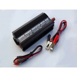 Menič napätia 24V / 220V 600W s USB