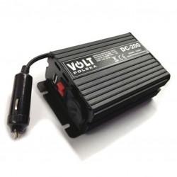 Meniče napätia 24V / 12V 10A DC200 s USB