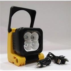Pracovná lampa 4 LED 3W Batéria