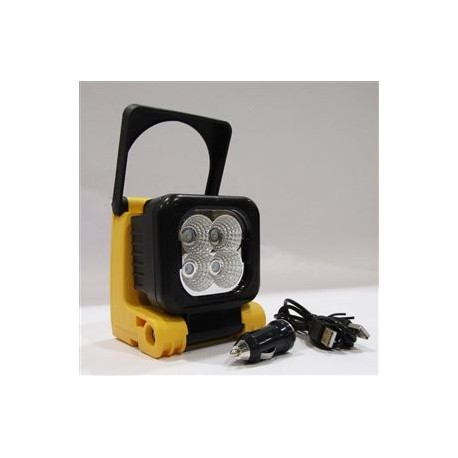 Batéria 4 3w Lampa Tech Pracovná Led Vr 9W2IHEYD